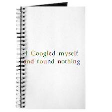 I Googled myself... Journal