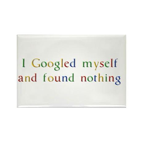 I Googled myself... Rectangle Magnet