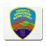 Marin Sheriff Mousepad