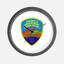 Marin Sheriff Wall Clock