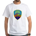 Marin Sheriff White T-Shirt