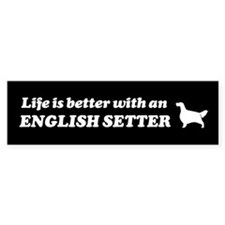 English Setter Bumper Bumper Sticker