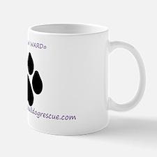 Pay It Paw Ward ® purple fancy www Mug