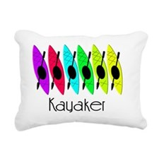 kayaker joanne Rectangular Canvas Pillow