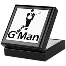 G Chord Man Keepsake Box