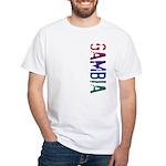 Gambia White T-Shirt