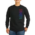 Gambia Long Sleeve Dark T-Shirt