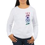 Gambia Women's Long Sleeve T-Shirt