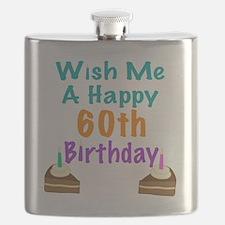 Wish me a happy 60th Birthday Flask