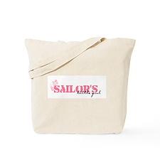 Sailor's Little Girl Tote Bag