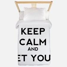 Keep Calm and Get Your WOD On Twin Duvet