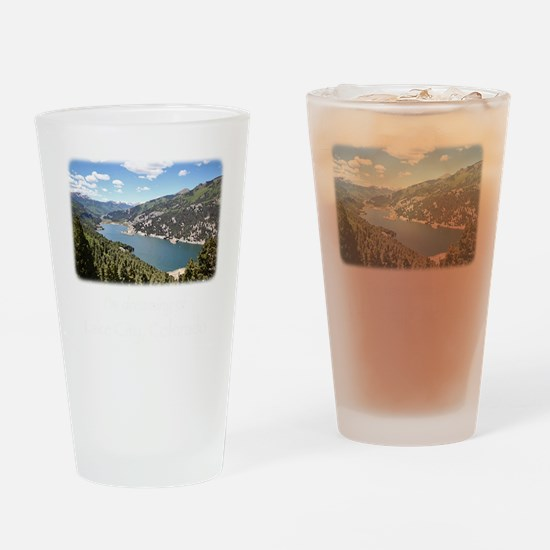Lake City Dreaming Drinking Glass