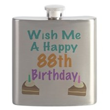 Wish me a happy 88th Birthday Flask