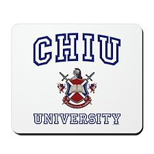 CHIU University Mousepad