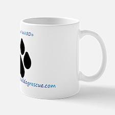 Pay It Paw Ward ®  blue fancy Mug