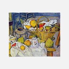 Paul Cezanne Still Life with Fruit B Throw Blanket
