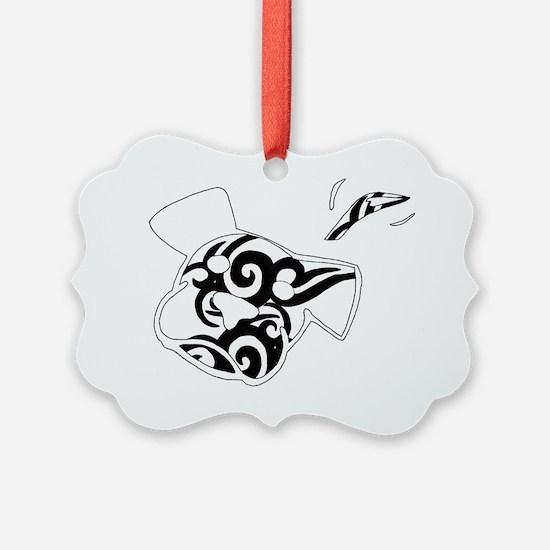 BW tattoo Ornament