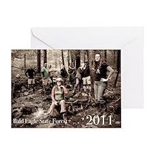 2011 magnet Greeting Card