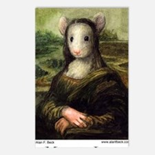 Mousie Lisa Postcards (Package of 8)