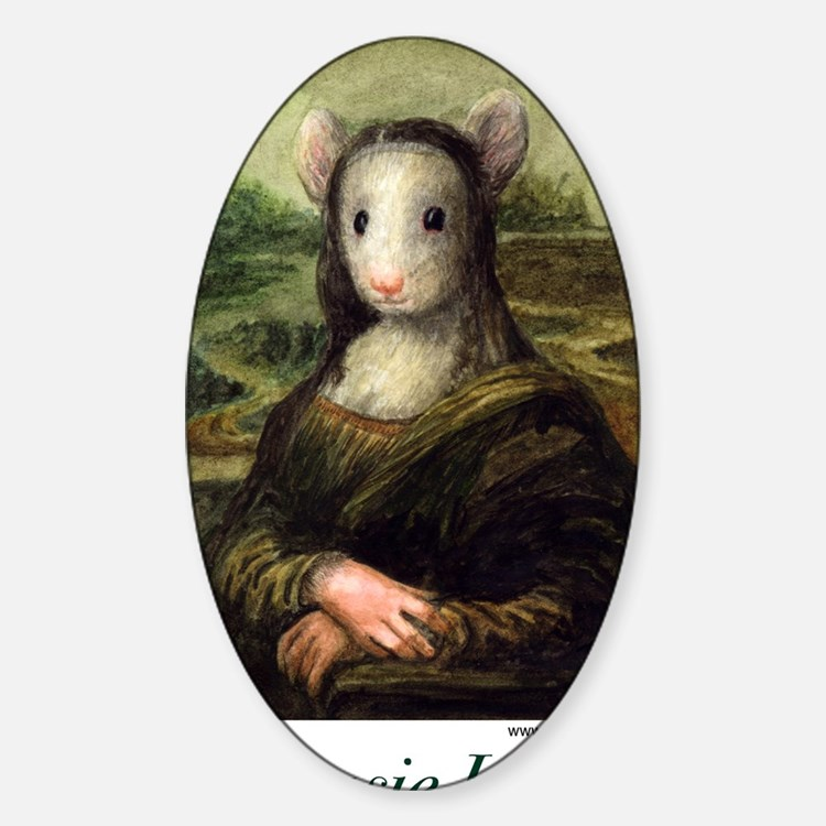 Mousie Lisa Decal