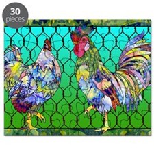 rooster  hen Puzzle