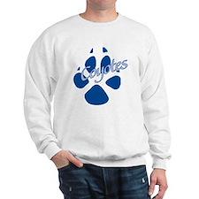 Paw dark blue Sweatshirt