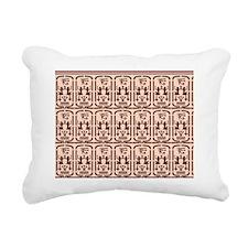 Egyptian Pattern Rectangular Canvas Pillow