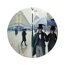 Gustave Caillebotte Round Ornament