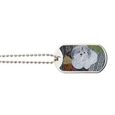 Happy at Home by Alexandria Kuman Dog Tags