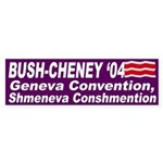 Bush, Cheney, Geneva Convention