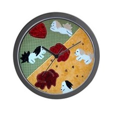 Havanese Will Melt Your Heart by Mary L Wall Clock