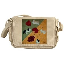 Havanese Will Melt Your Heart by Mar Messenger Bag
