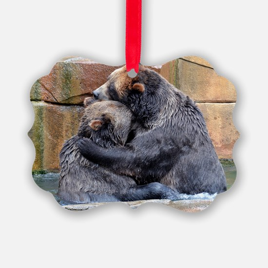 Bear Hug Ornament
