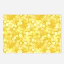 Golden Dots Postcards (Package of 8)