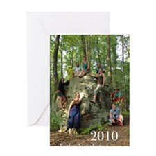 2010 magnet Greeting Card