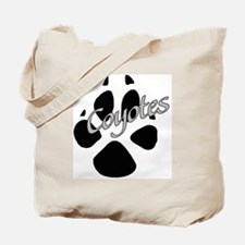 Coyote Paw Tote Bag