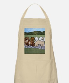 My Two Loves by Pat Casson Apron