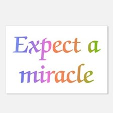 Expect a Miracle Postcards (Package of 8)