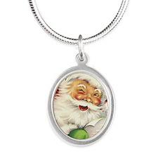 sv_iphone_4_slider_case Silver Oval Necklace