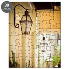 Gas Lamps, French Quarter Puzzle