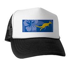 Kangaroo Velcro Beer Cooler Trucker Hat