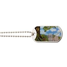 My heart at the end of the leash by Nancy Dog Tags