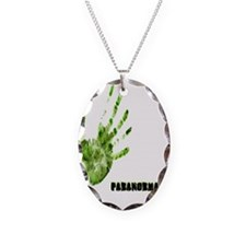 paranormal Necklace Oval Charm