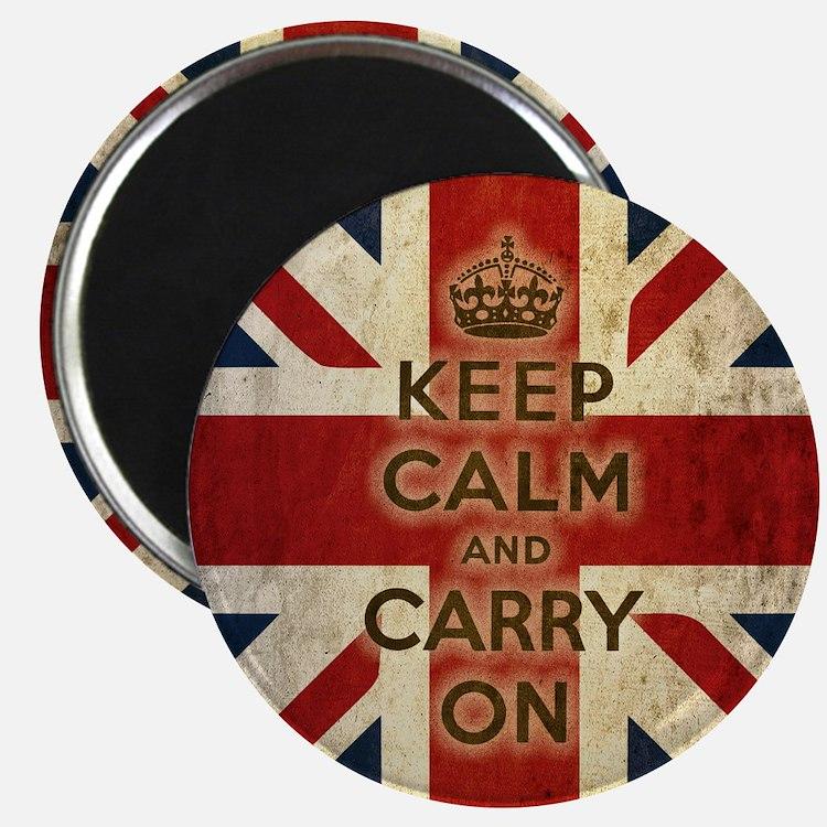 Vintage Keep Calm Magnet