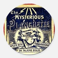 Vintage Ouija Mystery planchette  Round Car Magnet