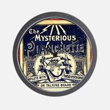Vintage Ouija Mystery planchette Ad Wall Clock