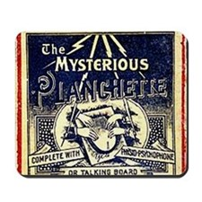 Vintage Ouija Mystery planchette Ad Mousepad