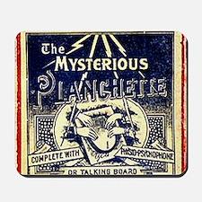 Vintage Ouija Mystery planchette Ad Mousepad