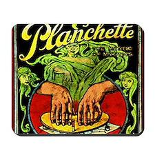Vintage Ouija planchette Mousepad