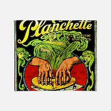 Vintage Ouija planchette Throw Blanket